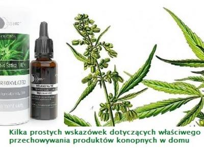 Jak przechowywać olejki konopne  CBD Kobieceinspiracje.pl