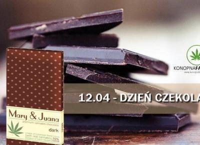Dzień czekolady to ulubione święto każdego łasucha. Wypada właśnie dzisiaj – 12 kwietnia. – Konopia Farmacja PL