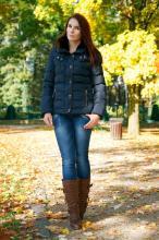 Kootsu  - moda, uroda, lifestyle: Granat   brąz
