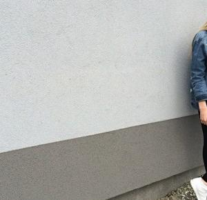 Alexxis: Jeans jacket...