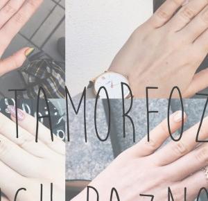 girl so in love with the wrong world: Metamorfoza moich paznokci, jak o nie dbać?
