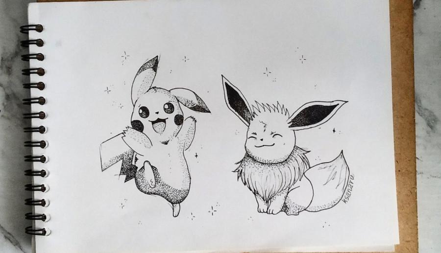 Pikachu & Eevee