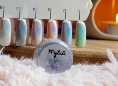 Paznokciowe (holo)love | My Disco Ball od MylaQ - Ksanaru