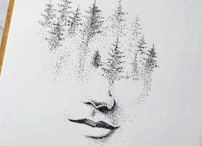 Dotwork art