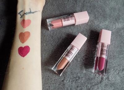 Ultra Matte Liquid Lipstick - płynne matowe pomadki Wibo! - Ksanaru