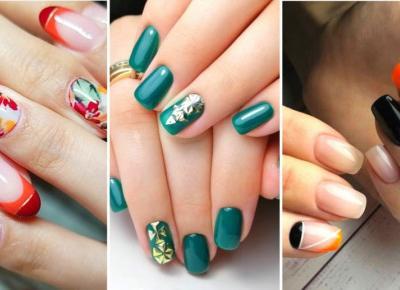 Najlepsze inspiracje na jesienne paznokcie!