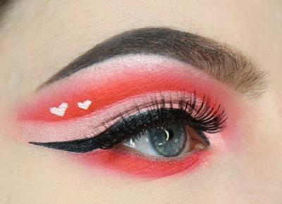 Inspiracje na walentynkowy makijaż!