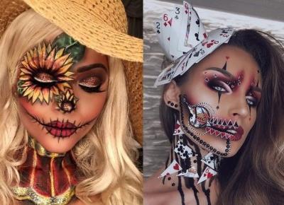 Najlepsze makijaże na Halloween - zainspiruj się!