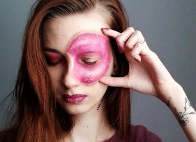 Donut makeup