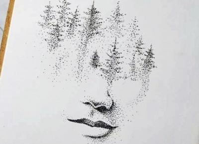kropkowy las