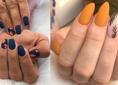 Najmodniejsze paznokcie na jesień!