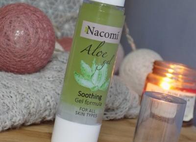Aloesowe serum żelowe do twarzy Nacomi. - Ksanaru