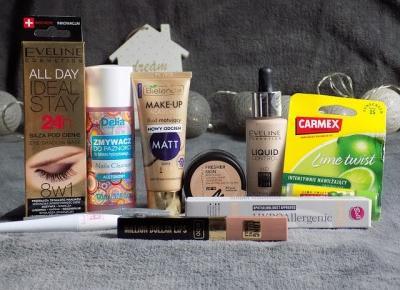 Rossmanowy Haul -49%/-55% na kosmetyki do makijażu. | Ksanaru