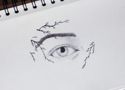 ✨ Open your eyes✨ | Dotwork art