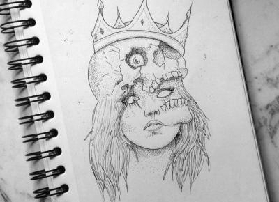 Skull girl