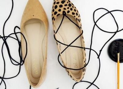 10 pomysłów na metamorfozę starych butów!