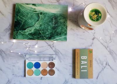 Ingrid Bali Blue Lagoon - wegańska paleta cieni. - Ksanaru