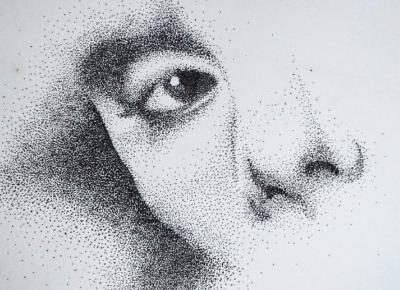 Kropkowa twarz