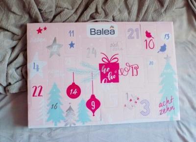 Kalendarz adwentowy z kosmetykami | Balea