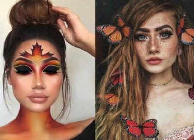 Artystyczne jesienne makijaże, które zrobią na Tobie wrażenie!