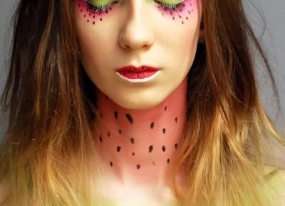 Watermelon Makeup. - Ksanaru