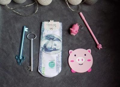 Dolarowe Aliexpress 2 - świnki, klucze, arbuz. | Ksanaru