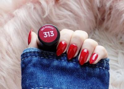 Eveline Hybrid Professional 313 Red Passion | Hybrydy z drogerii - Ksanaru