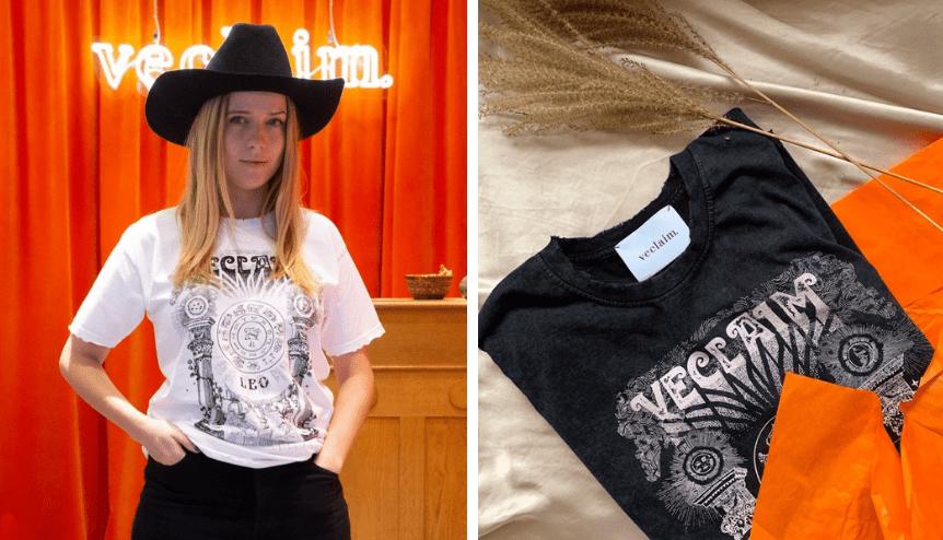 Fani marki VECLAIM rozczarowani: Jessica sprzedaje tanie tshirty firmy
