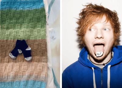 Ed Sheeran został Ojcem, wiemy jak nazwał swoją córkę.