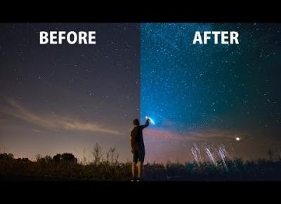 Lightroom#8 by Kubelkowaty - Jak obrabiać zdjęcia gwiazd, nocne zdjęcia