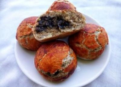 Bułki z pieczarkami - Kulinarnie - blog kulinarny Agnieszki Ryznar