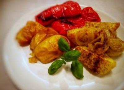 Pieczone ziemniaki - Kulinarnie - blog kulinarny Agnieszki Ryznar