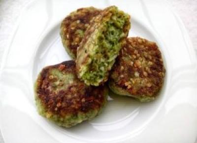 Kotlety brokułowe - Kulinarnie - blog kulinarny Agnieszki Ryznar