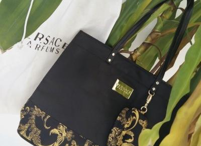 K ∀ T E: new versace shopper bag&vintage golden mirror&signet ring