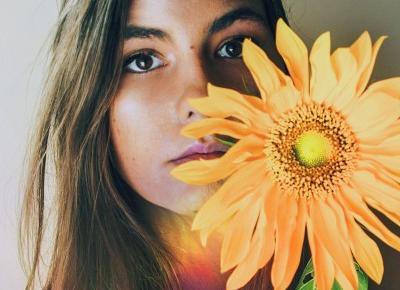 Dziewczyny i kwiaty | sesja zdjęciowa