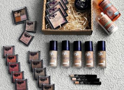 Test zestawu kosmetyków od MOIA, KONTIGO i kilka słów o Harrym J Makeup ~ kwietniowa