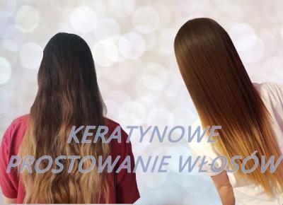 Keratynowe prostowanie włosów *IDEALNE NA JESIEŃ* - kwietniowa