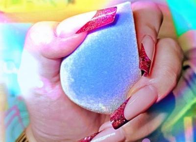 Gąbka z mikrofibry do makijażu | FUTRZASTY BEAUTY BLENDER