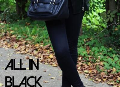 I love beautiful things!: ALL IN BLACK | The Fools Who Dream...