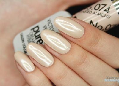 Lakierowe rewolucje: Victoria Vynn Pure 074 + srebrny perłowy pyłek