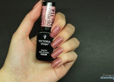 Lakierowe rewolucje: Victoria Vynn Gel Polish - 114 Pinky Glitter
