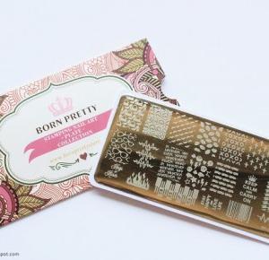 Lakierowe rewolucje: Płytka BP-L012 - Born Pretty Store