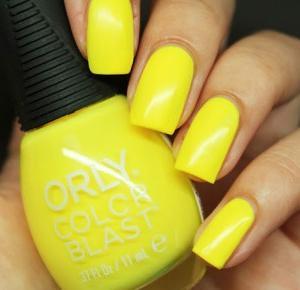 Lakierowe rewolucje: Orly Color Blast - Fun In The Sun