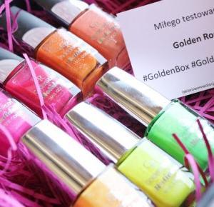 Lakierowe rewolucje: Neonowe piaski - Golden Rose Holiday