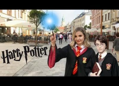 Noszę SZATĘ HOGWARTU z Harry'ego Pottera przez jeden DZIEŃ