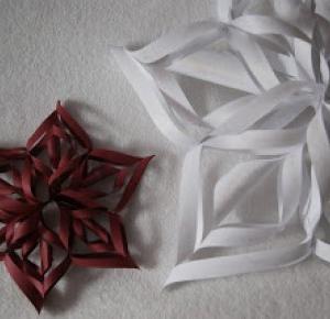 larossee: Paper star DIY