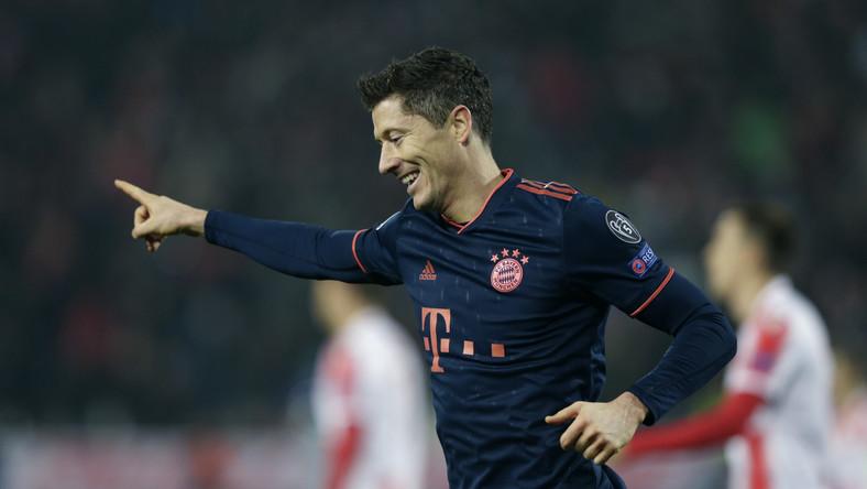 Liga Mistrzów: Robert Lewandowski z kolejnym rekordem