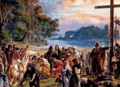 Święto Chrztu Polski. 1054 lata temu Polska stała się państwem chrześcijańskim                          - Wiadomości