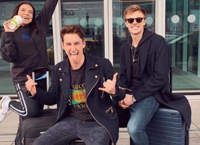 Lexy, Marcin Dubiel i Adam Zaorski oszukali fanów, że są w LA? Kolejny prank na widzach.