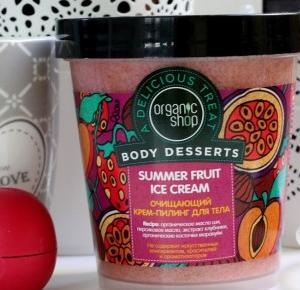 Sparkle With Lee Lee: Organic Shop Body Desserts Summer Fruit Ice Cream